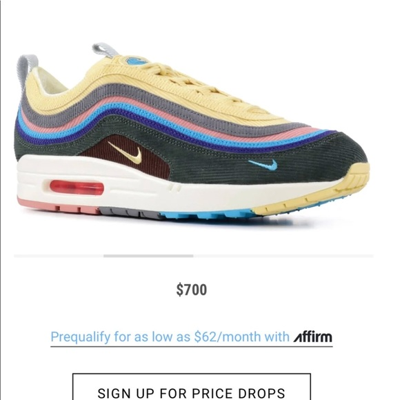 NIKE AIR MAX 197 VF SW SEAN WOTHERSPOON (WITH LACES)